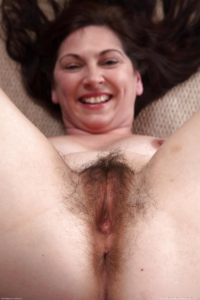 Horny hairy mature-7302