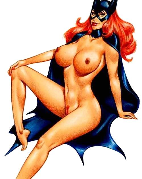 Fiction Superheroine Batgirl Erotic Adult Wonderwoman