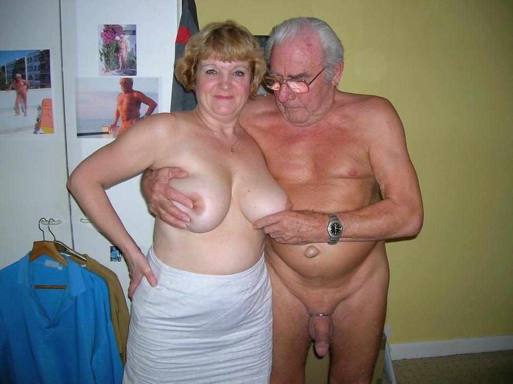 Naked granny and grandpa — pic 2