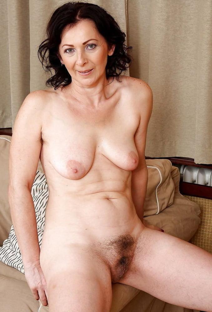 Black hairy naked mature women