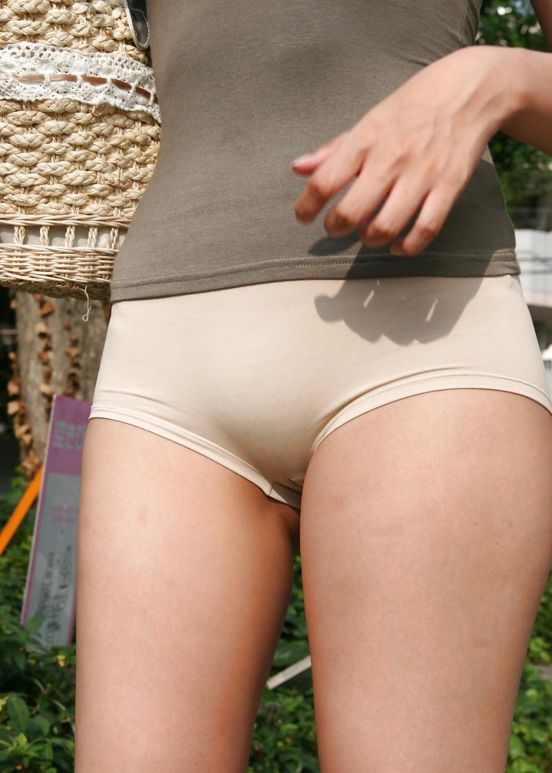 Asian Girls On Tight Panties Upskirt Voyeur Street - 230 -3727