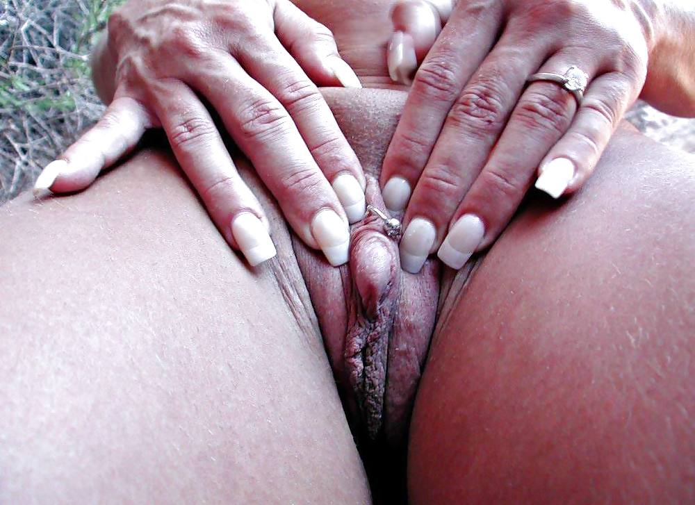 Woman With Large Clit
