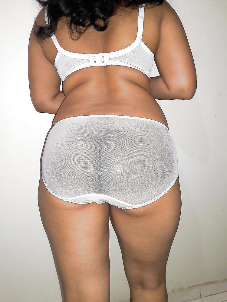 Sri Lankan Wife in White Bikini - 16 Pics