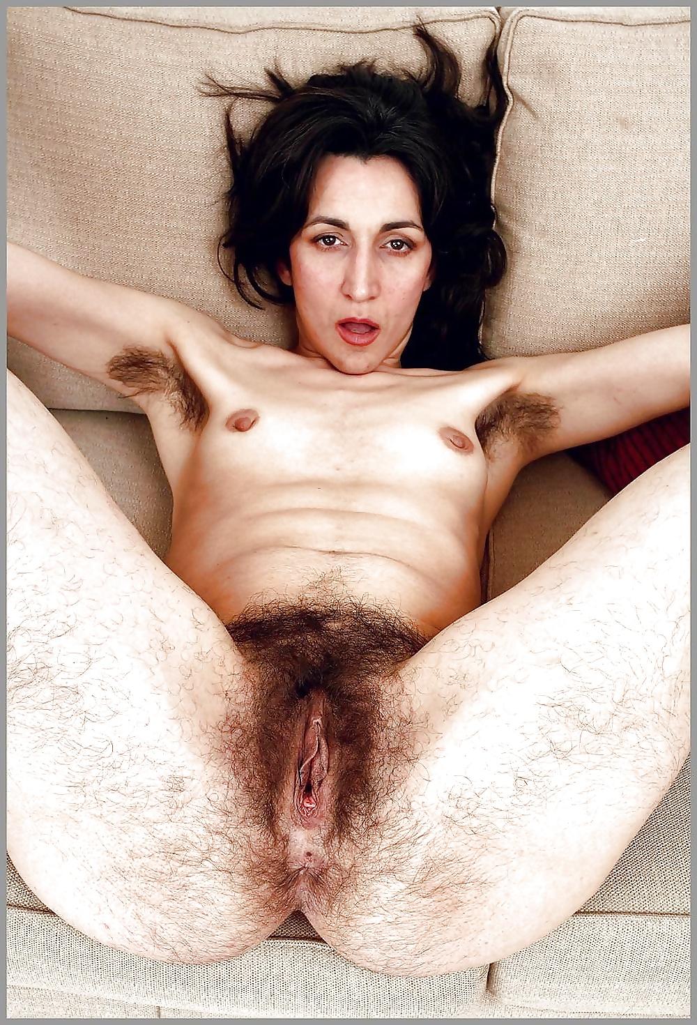 Worlds hairiest vagina