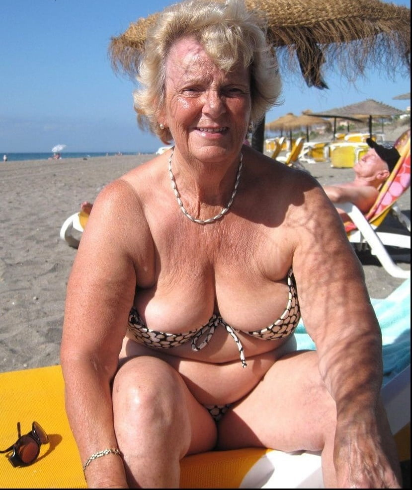Granny bikini slut pictures amatuer — pic 15