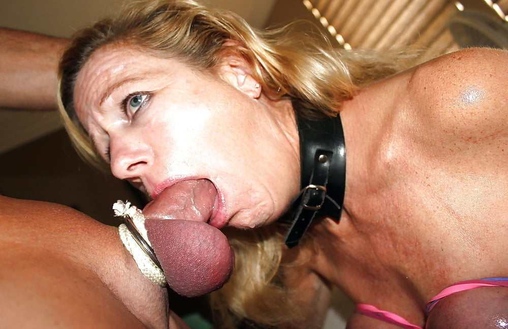 Classy Mature Gagging And Dickriding