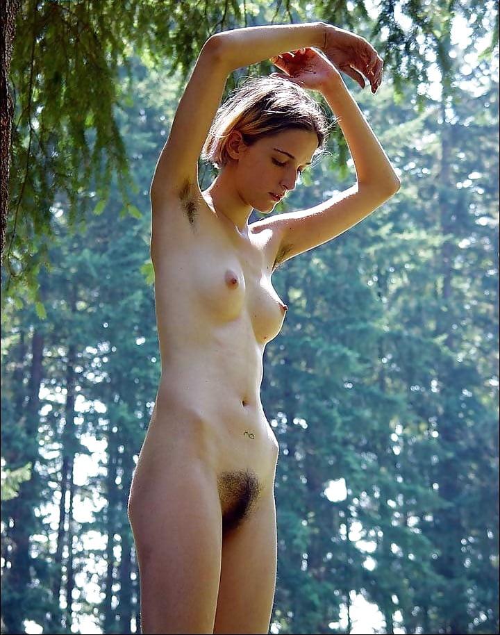 Girls naked in the bush