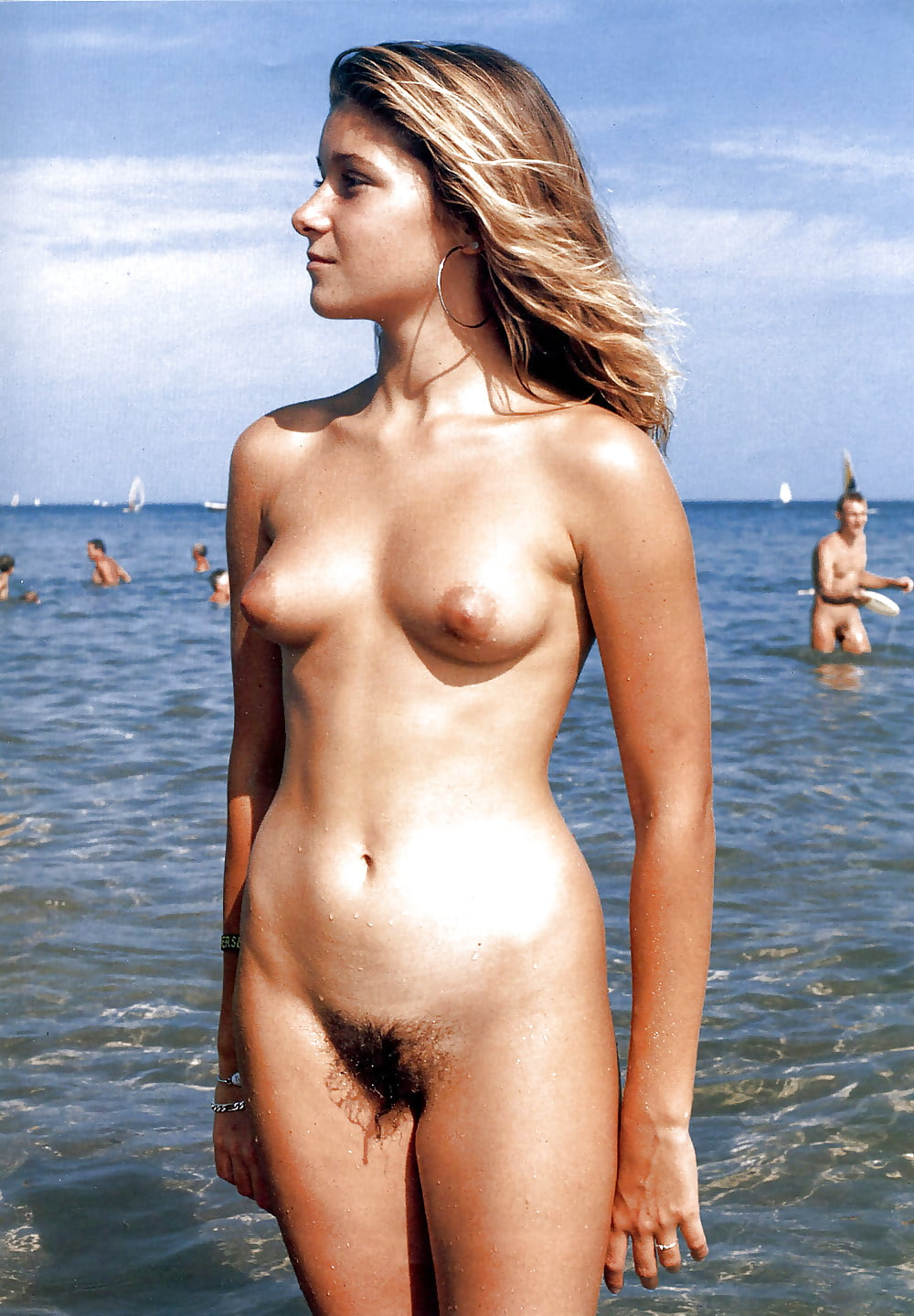 Hairy young and Girls in