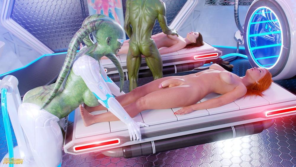 Alien Abduction Gay Porn