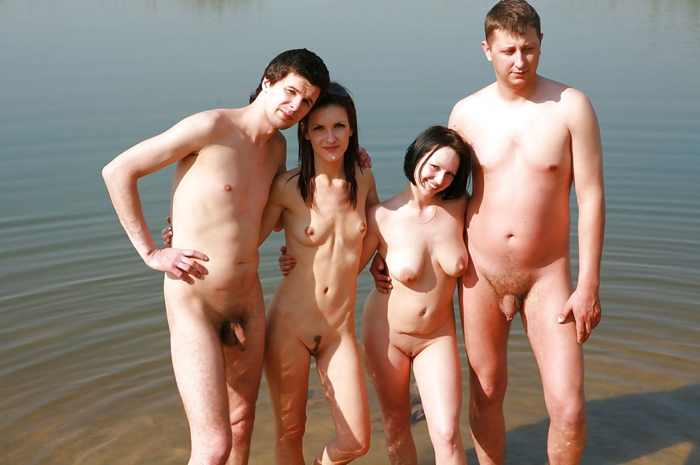 Free nude young family video