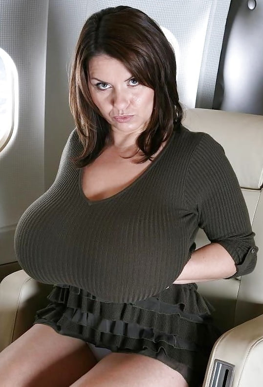 wife-red-big-tits-on-a-plane