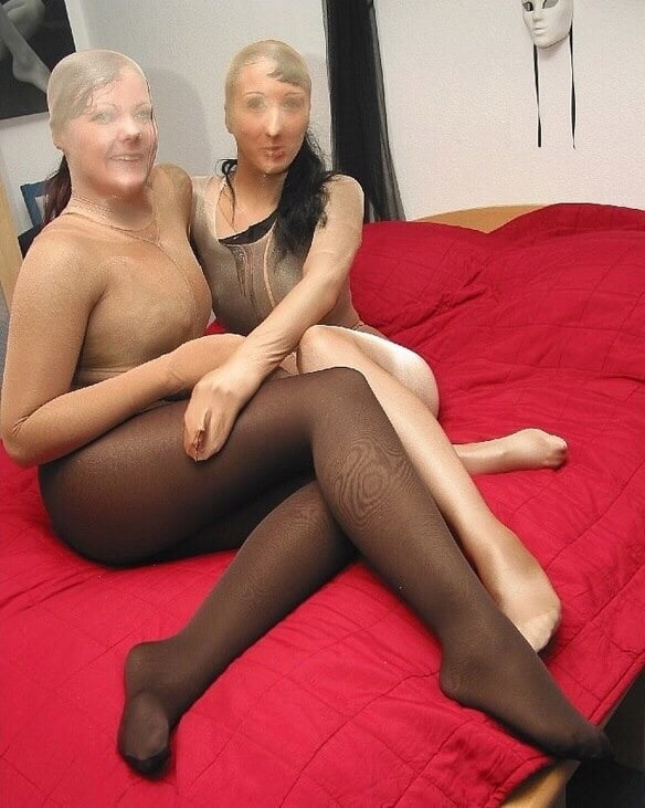 Pantyhose encasement porn-5644