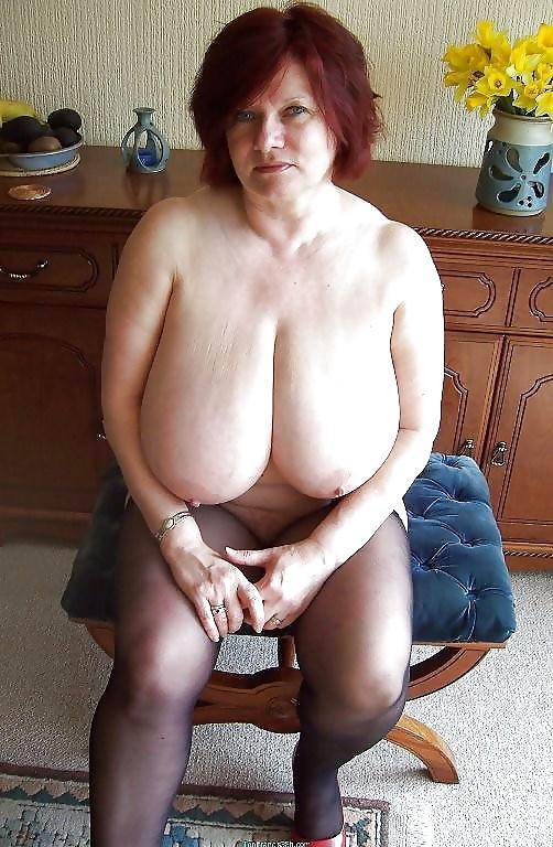 фото зрелые полные тетки с отвисшими сиськами - 3
