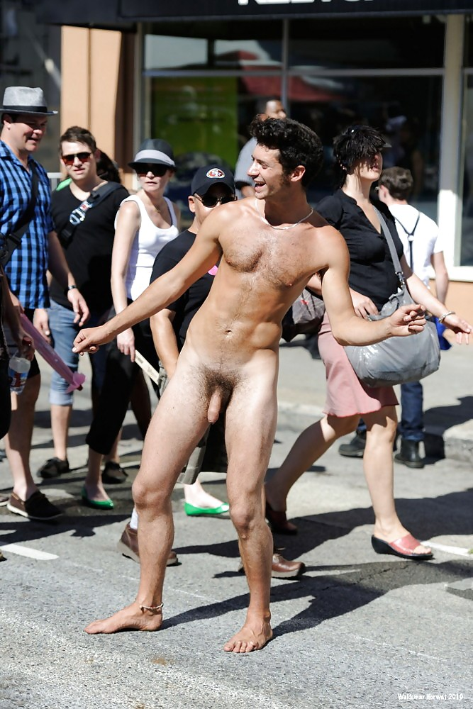 Muscle Men Naked In Public