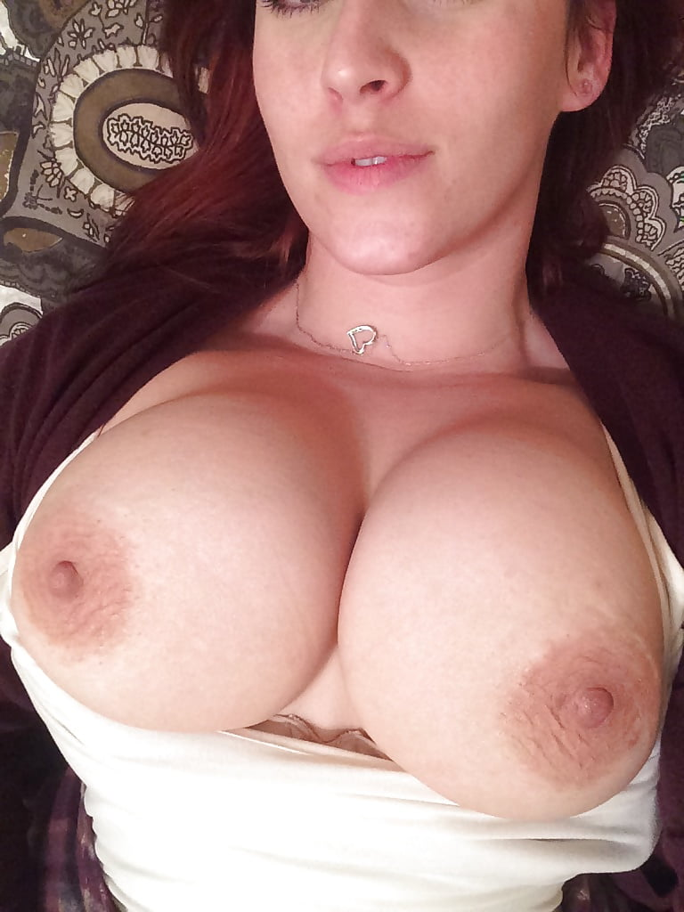 Naked big breast with dildo selfie — photo 15