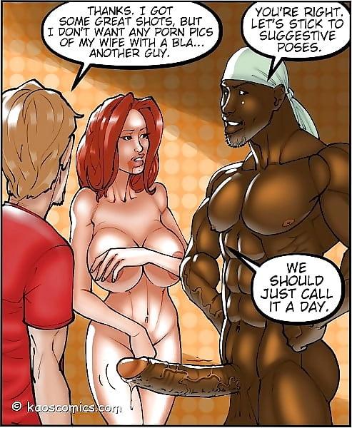 Interacial cartoon porn