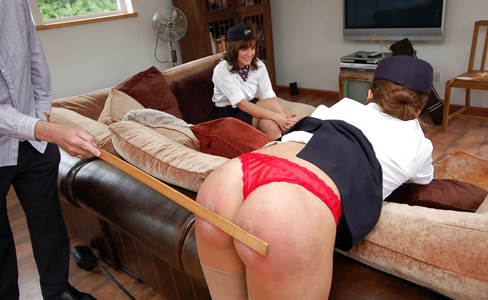Adriane Gets A Good Butt Blistering, As Promised