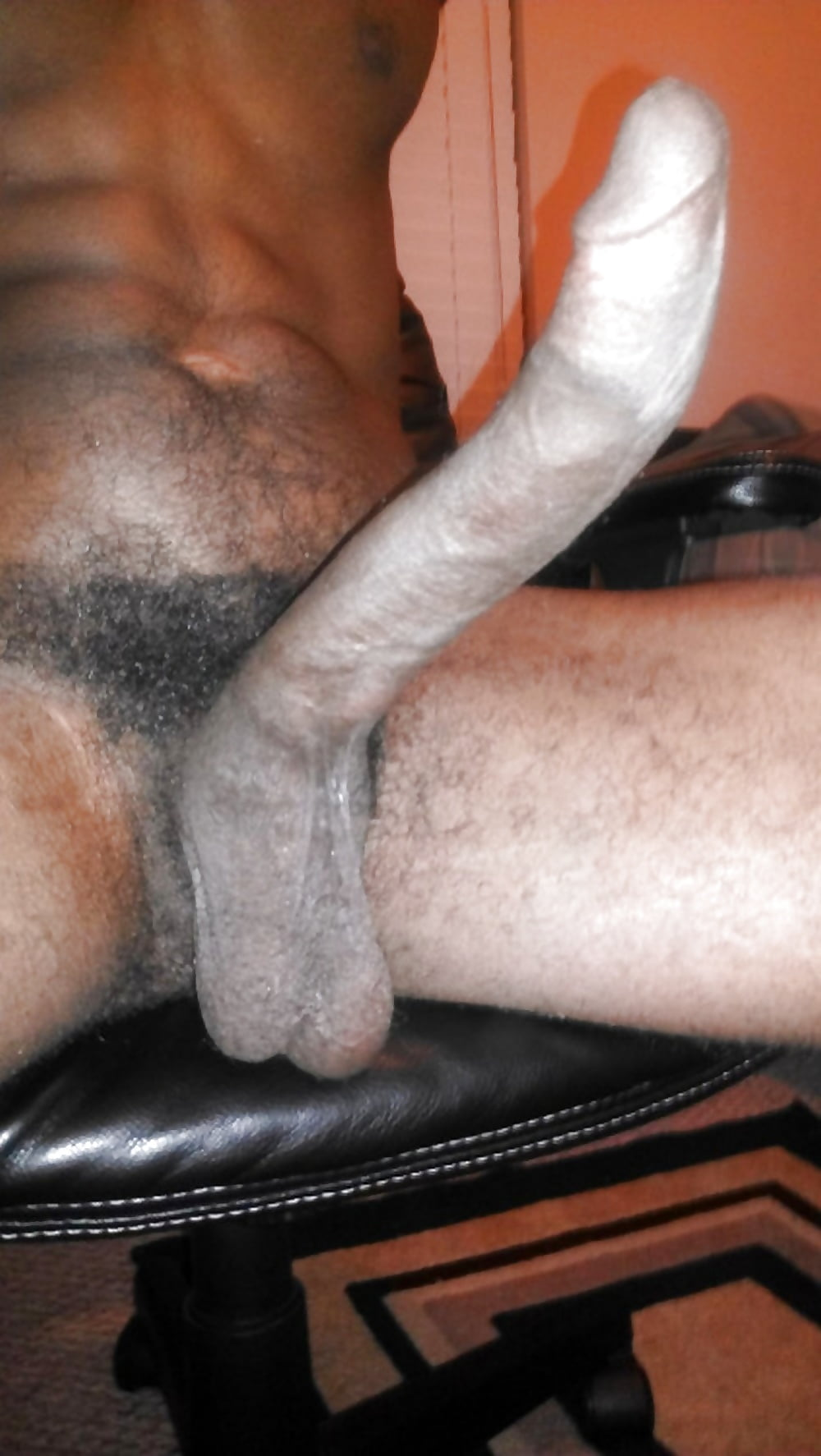 Wanking Small Black Dick