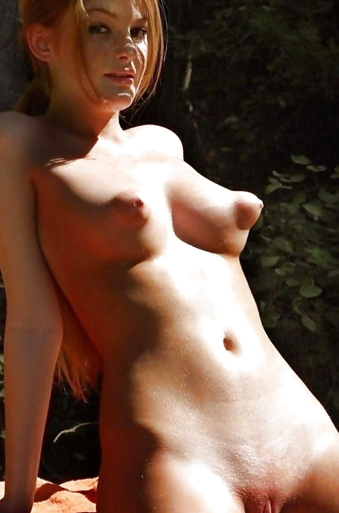 Free nude photos of sexy blonde with nice boobs and puffy nipples