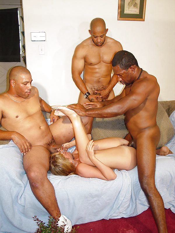 Interracial gang bang squad, kim kardashian sex tape youporn