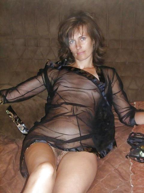 Hairy lingerie milf-5044