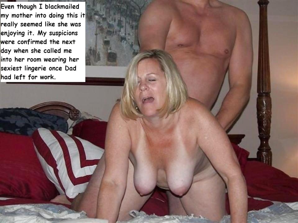 Mom blackmail porn