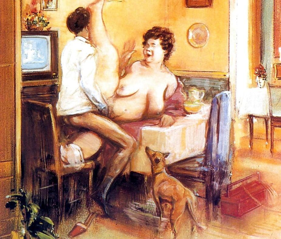 художники рисовавшие порно картины