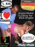 Merkel fakes angela 'Fake news'