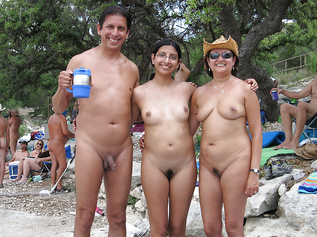 Naked indian girls on beach