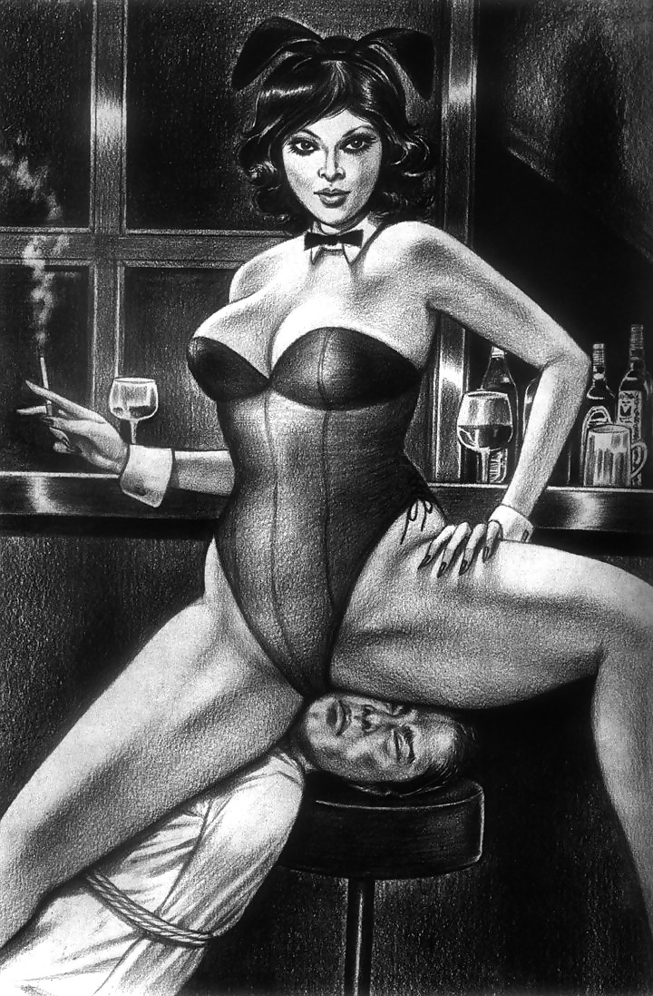 Femdom Drawings Collection