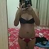 indonesia jilbab biru selfie bugil