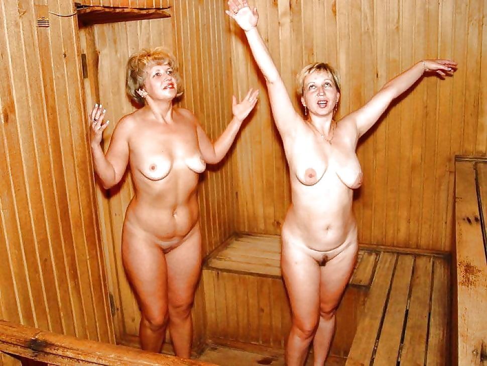 Ню взрослые в бане 2