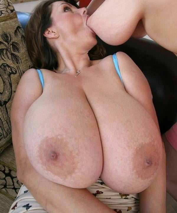 Just the biggest tits ever