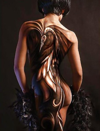 Celeb Nude Painted On Clothes Gallerys Photos