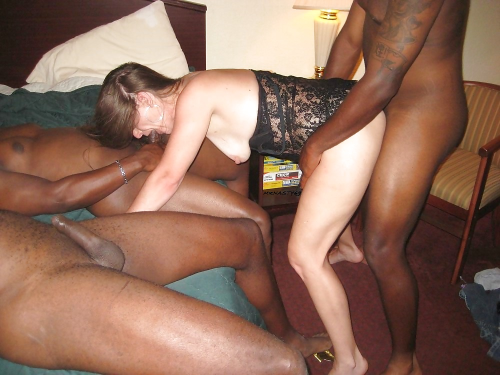 Interracial creampie cheating