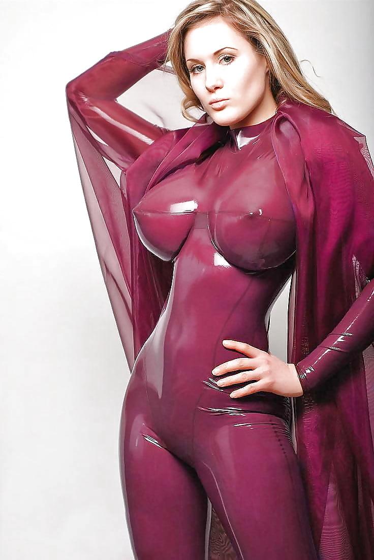 Latex women nude — 5