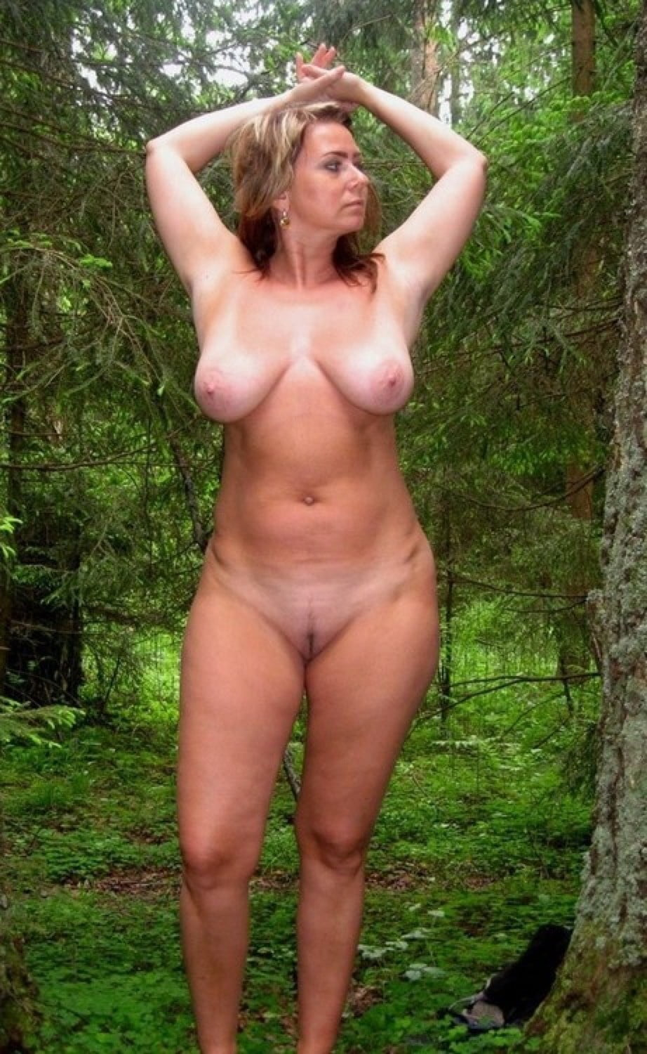 Nude Ass In The Nature
