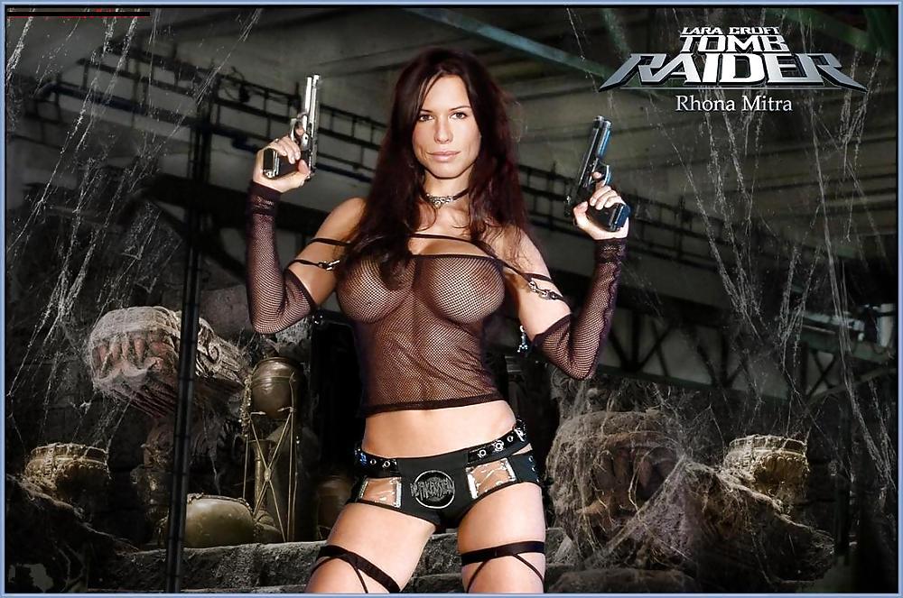 Free Rhona Mitra Nude Naked