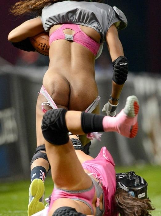 Girls Football Nude Team Just Use Bikini