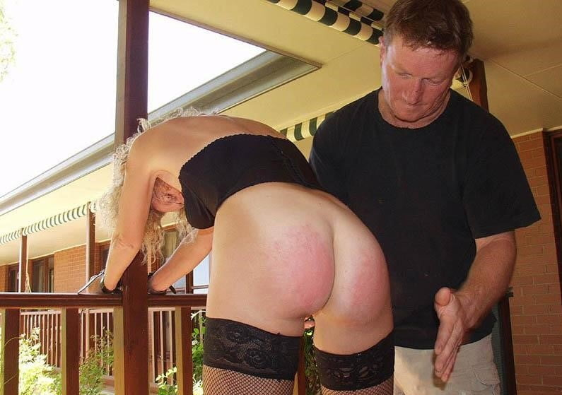 Husband Spanking His Naughty Wife