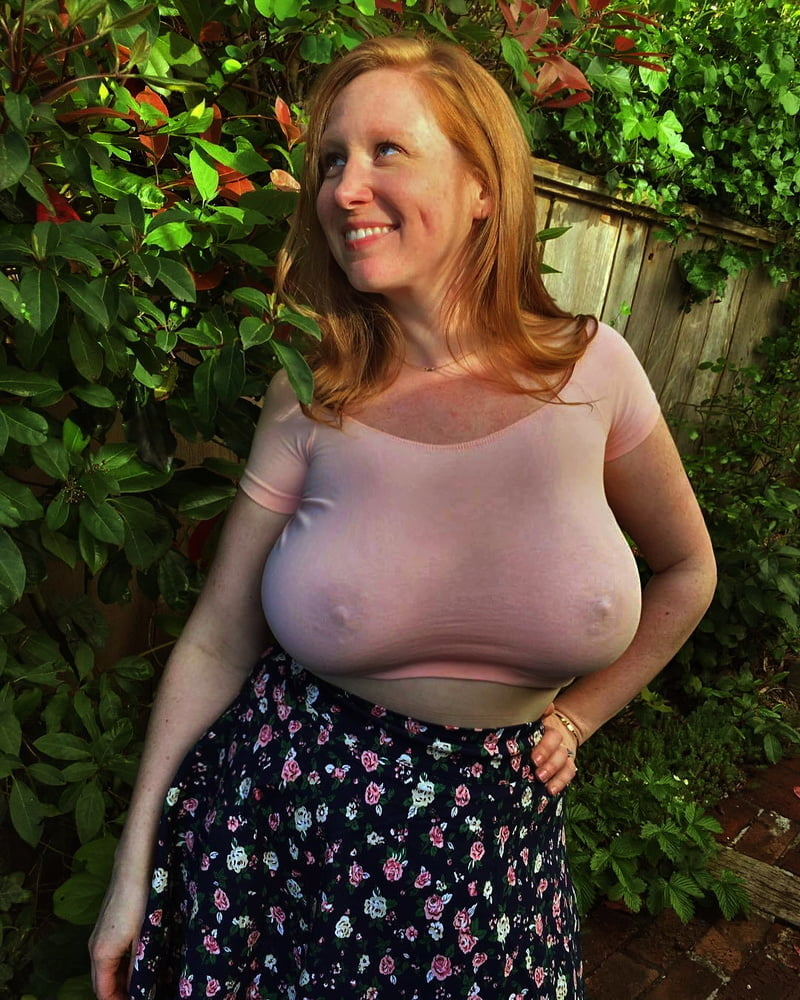 Huge Tits Over Sweater