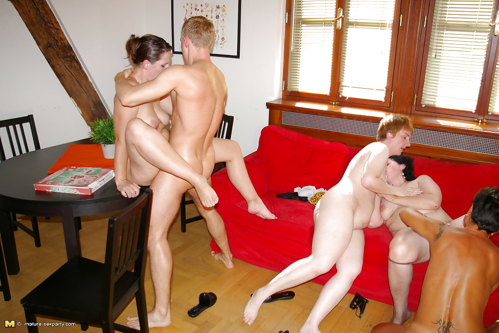 Watching hismom get fucked by friend