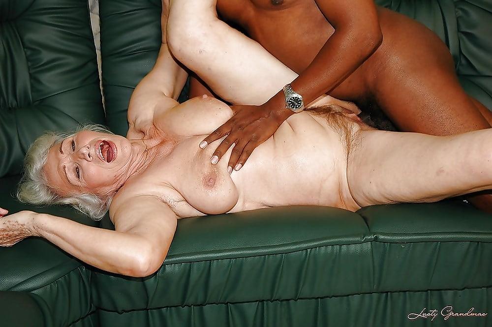 Жирные старушки с неграми в порно
