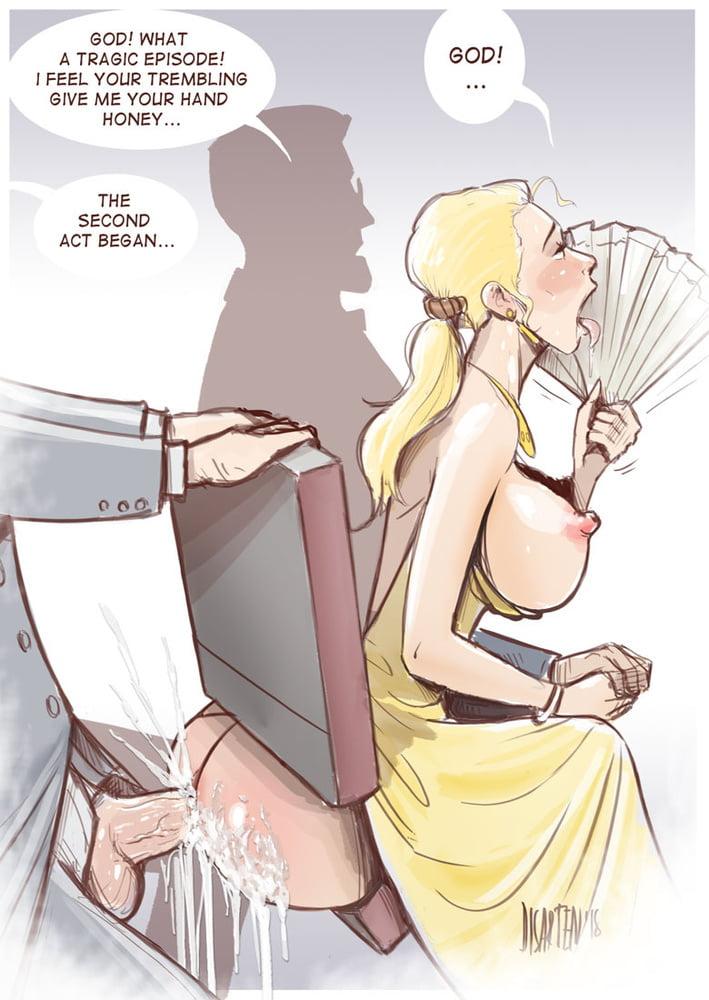Cuckold Comics Selected by Turkish Master - 24 Pics