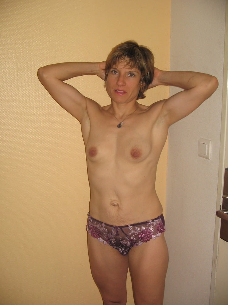 Older women with small breasts