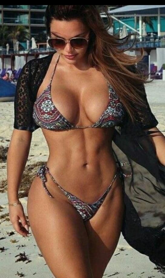 Beautiful women in swimwear