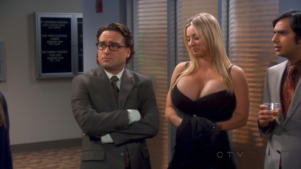 Kaley cuoco big bang theory boobs