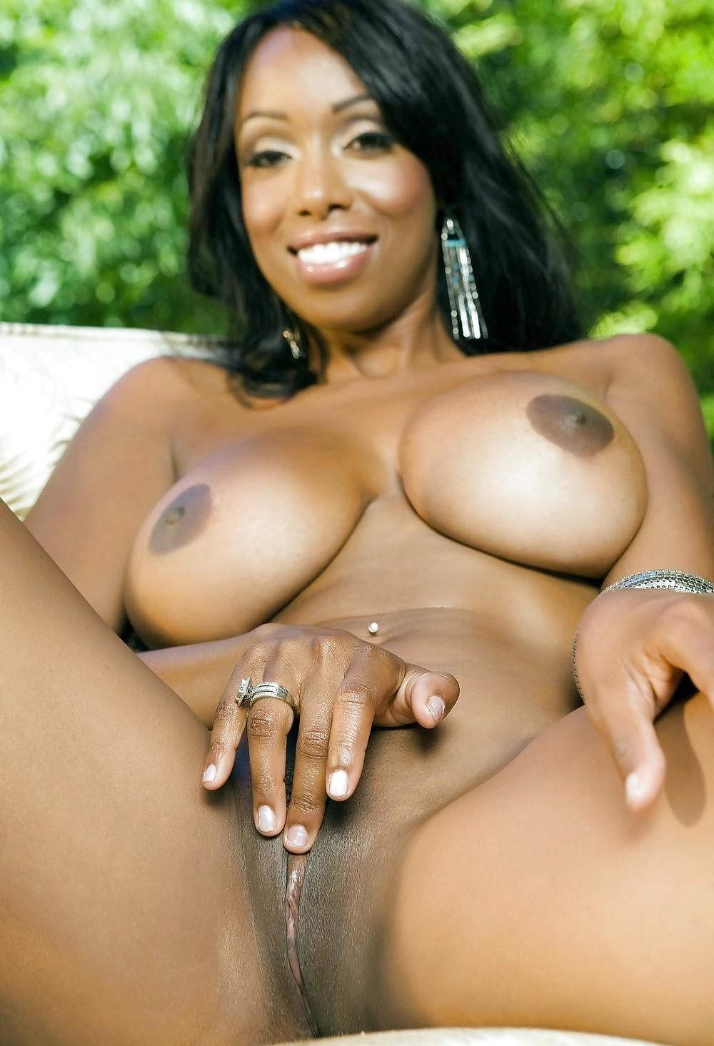 Bosomed Pornstar Romi Rain Enjoys Licking Black Pussy Picture