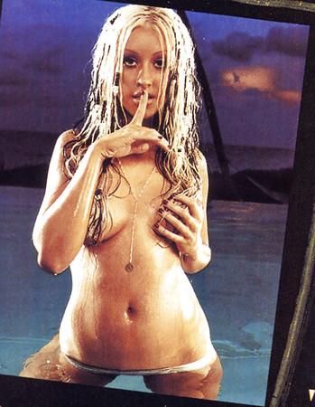 model bikini shoot Christina