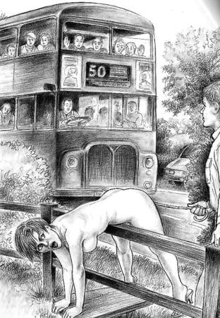 erotik spanking art